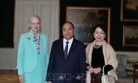 Thủ tướng Nguyễn Xuân Phúc tiếp kiến Nữ hoàng Đan Mạch