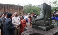 """Tổng thống Ấn Độ: """"Kiến trúc của các ngôi đền ở Mỹ Sơn được thiết kế tinh tế"""""""