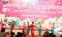 Các cơ quan đại diện ngoại giao Việt Nam ở nước ngoài đón Xuân Kỷ Hợi