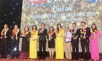 Trao giải Thương hiệu Việt yêu thích nhất năm 2019