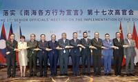 Việt Nam tham dự Hội nghị quan chức cao cấp ASEAN-Trung Quốc về (DOC) lần thứ 17
