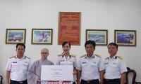 Hội Phật tử Việt Nam tại Hàn Quốc thăm và tặng quà huyện đảo Trường Sa