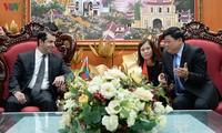 Tổng Giám đốc VOV Nguyễn Thế Kỷ tiếp Đại sứ Azerbaijan Imanov