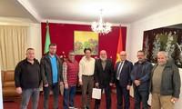 Đại sứ quán Việt Nam gặp mặt thân mật với Ban Lãnh đạo Liên đoàn và môn phái võ cổ truyền tại An-giê-ri