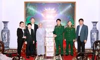 Hội Phật tử Việt Nam tại Hàn Quốc thăm và tặng quà Trung tâm cách ly người từ vùng dịch trở về