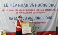 Hội Phật tử Việt Nam tại Hàn Quốc chung tay phòng chống covid -19 và giúp nhân dân bị ảnh hưởng bởi hạn mặn