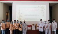 Phật giáo Việt Nam tại Hàn Quốc ủng hộ công tác phòng, chống dịch Covid-19 tại Bệnh viện dã chiến huyện Củ Chi