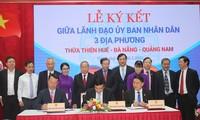 Ba tỉnh, thành phố miền Trung liên kết phát triển du lịch