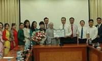 Tặng 20.000 khẩu trang hỗ trợ kiều bào tại Hàn quốc chống dịch Covid -19
