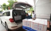 Sao Thái Dương tặng Bộ Y tế 50.000 test thử xét nghiệm virus SARS-COV-2