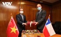 Việt Nam, Chile tăng cường hợp tác trong lĩnh vực nông nghiệp