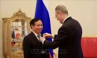 Vinh danh Đại sứ Việt Nam tại LB Nga vì những đóng góp cho quan hệ song phương