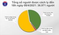 Việt Nam có thêm 9 người mắc COVID-19