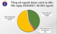 Chiều 2/5, ghi nhận 8 ca mắc COVID-19 trong cộng đồng tại Hà Nam và Vĩnh Phúc