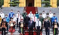 Chủ tịch nước Nguyễn Xuân Phúc khẳng định cần tiếp tục phát huy tinh thần đại đoàn kết dân tộc