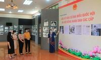Vĩnh Long trưng bày những hình ảnh đẹp về các kỳ bầu cử