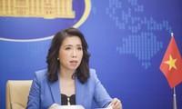 Việt Nam kiên quyết phản đối mọi hành động xâm phạm chủ quyền tại quần đảo Trường Sa