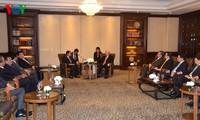Tổng Bí thư Nguyễn Phú Trọng có nhiều cuộc làm việc với các nhà Lãnh đạo và doanh nghiệp Thái Lan