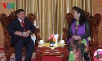 Phó chủ tịch Quốc hội Tòng Thị Phóng tiếp Trưởng Đoàn đại biểu Quốc hội các nước