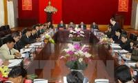 Xây dựng tuyến biên giới Việt Nam - Lào ổn định và phát triển toàn diện
