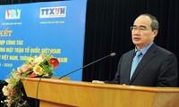 Ký kết tuyên truyền giữa Mặt trận TQVN với Đài TNVN,  Đài THVN và TTX Việt Nam