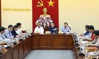 Chủ tịch nước thăm và kiểm tra công tác khắc phục mưa bão tại tỉnh Quảng Ninh