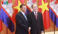 Việt Nam và Campuchia tăng cường hợp tác nghị viện