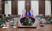 Tăng cường giao lưu, hợp tác giữa 2 Bộ Quốc phòng Việt Nam và Liên bang Nga