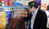 Trưởng ban Tổ chức Trung ương Phạm Minh Chính thăm và chúc Tết tại tỉnh Quảng Nam