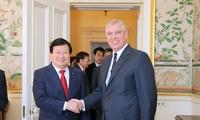 Việt Nam coi trọng quan hệ đối tác chiến lược với Vương quốc Anh