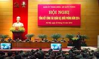 กองทัพประชาชนเวียดนามต้องปกป้องอธิปไตยของประเทศและขยายกลุ่มมหาสามัคคีชนในชาติ