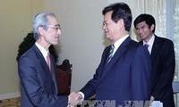 ประธานธนาคารบีทีเอ็มยูของญี่ปุ่นเข้าพบนายกฯเหงวียนเติ้นหยุง