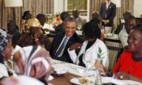 US President Barack Obama visits Kenya