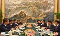 Chinese Party, State, and people value relations with Vietnam