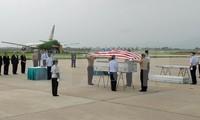US servicemen's remains repatriated