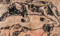 Vietnamese painting auctioned for more than 100,000 USD