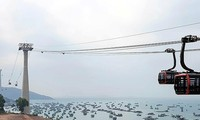 World's longest sea cable car route launched in Kien Giang province