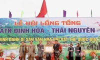 Thai Nguyen's Long Tong festival recognized as national heritage