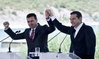 Greece, Macedonia sign agreement on name change