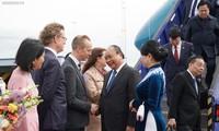 Prime Minister begins official visit to Sweden