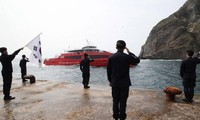 South Korea starts drills at disputed islands
