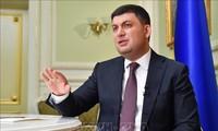 Ukrainian president denies involvement in US election scandal