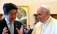 Prime Minister Abe asks Pope Francis to cooperate in North Korea issue