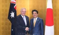 Japanese, Australian leaders share concern over East, South China Seas
