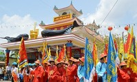 Song Doc Nghinh Ong Festival recognised as national intangible heritage