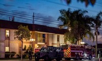 Consecutive bloody shootings in the United States