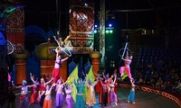 Circus show restaged to celebrate national holidays