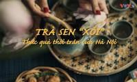 Hanoi's fresh lotus-scented tea