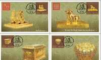Buddhist symbols, golden seals to feature on new stamp issue