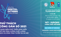 Public service solution app champions Youth Digital Citizen Challenge 2021